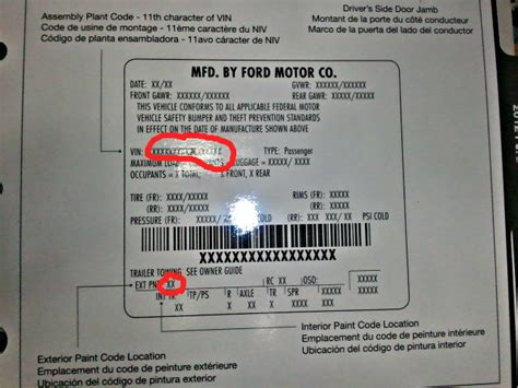2009 paint code information master list ford f150 community of ford truck fans