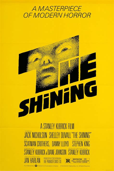 rejected  shining poster designs  saul bass