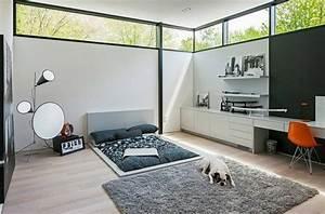 Petit Bureau Design : bureau suspendu de beaux exemples de petits meubles pratiques ~ Preciouscoupons.com Idées de Décoration