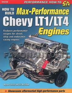 Chevy Lt1 Lt4 Engine Max Performance Book Camaro Z28 Ss