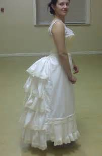 how to bustle a lace wedding dress steunk costuming course a damsel in this dress