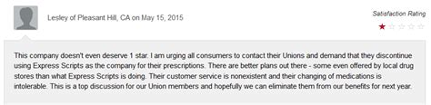 phone number for express scripts express scripts review negative reviews to