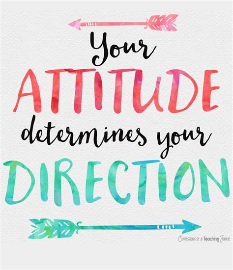 Positive Thoughts Images Your Attitude Determines Your Direction Truestory