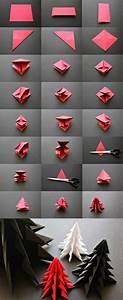 Origami Facile Noel : les 25 meilleures id es de la cat gorie origami sapin de ~ Melissatoandfro.com Idées de Décoration