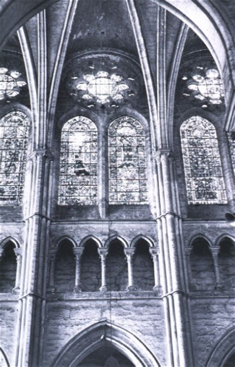 chartres cathedral interior  exterior