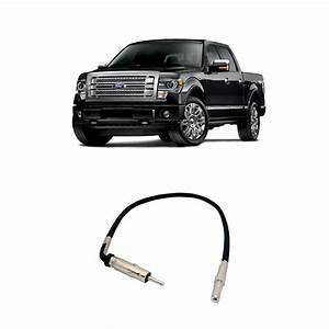 Ford F-150 Truck 2007-2014 Factory Stereo To Aftermarket Radio Antenna Adapter
