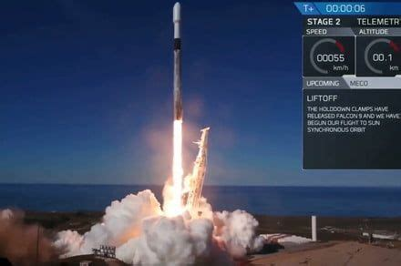 SpaceX's latest Falcon 9 rocket launch set multiple ...