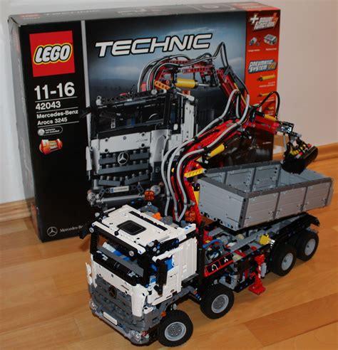 lego technic für erwachsene lego 42043 technic mercedes arocs 3245 bau test fotos