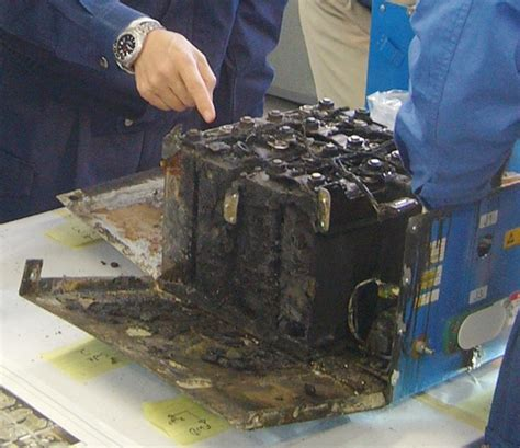 Exploding lithium batteries pose catastrophic danger to ...