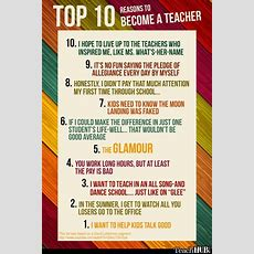 Top 10 Reasons To Become A Teacher!  Teacher Funnies  Pinterest  Funny, Too Funny And Lol
