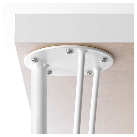 ikea desk legs with casters krille leg with castor white 70 cm ikea