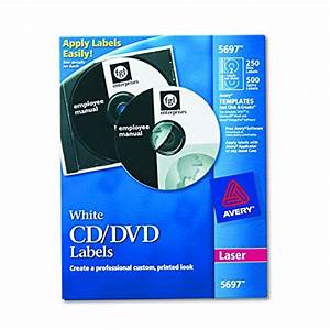 Avery cd labels white matte 250 cd labels and 500 case for Avery disc labels