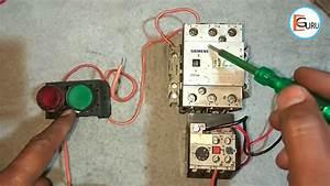 Motor Starter  U092e U0948 U0902 Contactor Holding Circuit  U0915 U0940  U0915 U094d U092f U093e  U091c U0930 U0941 U0930 U0924