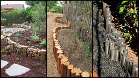 Eleven Interesting Garden Bed Edging Ideas