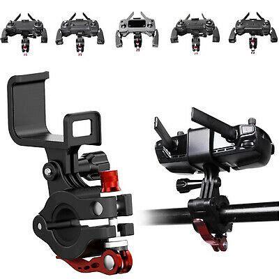 sender fahrrad halterung fuer dji mavic  pro air minispark bike mount holder ebay