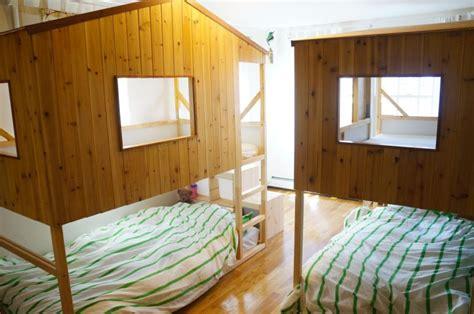 kid loft bed kid diys featuring the ikea kura bed