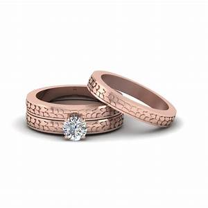 Engagement rings bridal trio wedding ring sets for Cheap bridal wedding ring sets