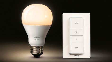 you can now dim philips hue bulbs from a wireless remote