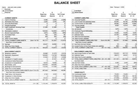 agec 752 developing a balance sheet 187 osu fact sheets