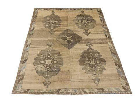 mid century rugs vintage turkish oushak area rug with mid century modern