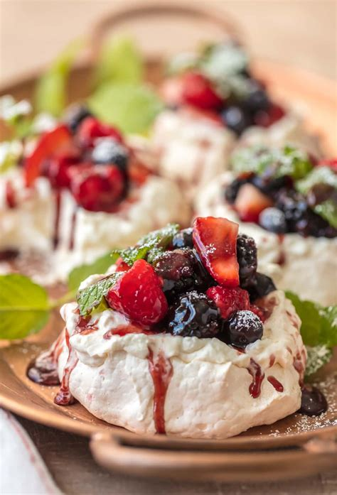 pavlova recipe meringue dessert the cookie rookie