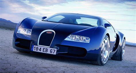 bugatti displays original eb  veyron concept