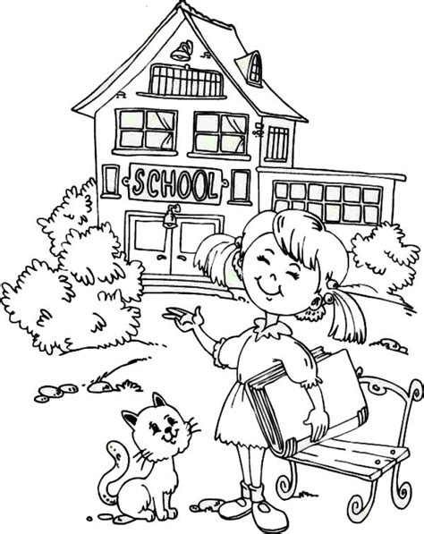 school coloring page 20 free printable school coloring pages