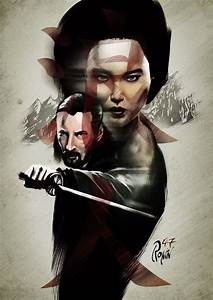 Alternative movie poster for 47 Ronin by Luke Butland