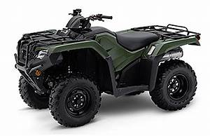 2019 Honda Rancher 420 Quick Guide  Details Model Differences