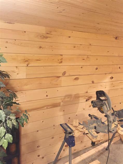 shiplap walls  basement carpentry diy chatroom home