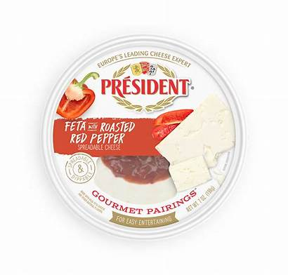 Cheese Gourmet Spreadable Pairings President President Announces