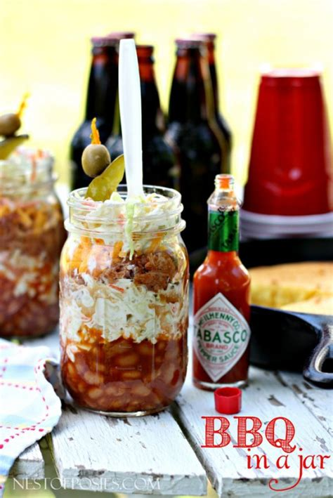barbecue  mason jar recipe mason jar crafts love