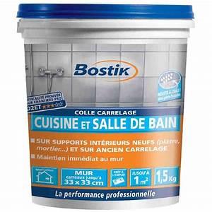 Cuisine Et Salle De Bain : colle cuisine et salle de bain bostik seau 1 5 kg de ~ Dode.kayakingforconservation.com Idées de Décoration