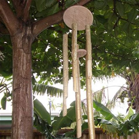 homemade bamboo wind chime tutorial