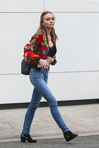 LILY-ROSE DEPP Shopping at Chanel Store in Beverly Hills ...