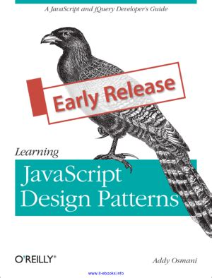 learning javascript design patterns  books book