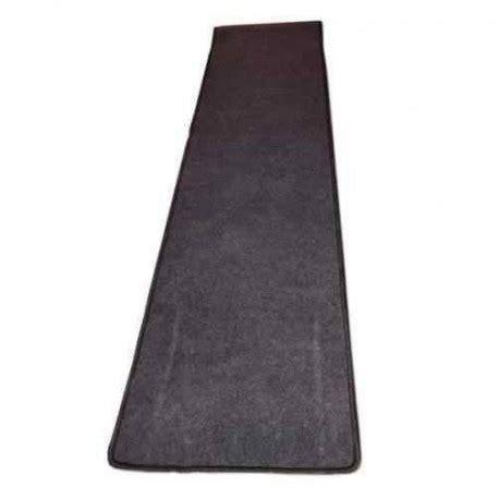 tapis de couloir gris    cm pour caravane  camping car