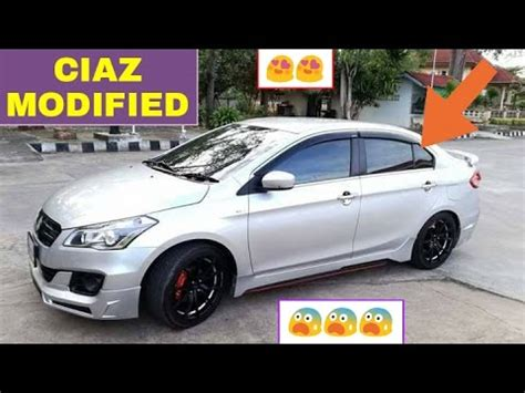 Suzuki Ciaz Modification by Top 5 Ciaz Modifications You Must See