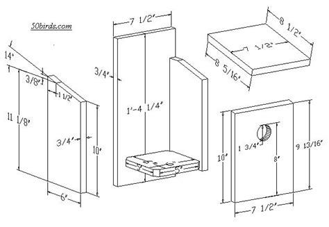 cute bird house plans for sparrows new home plans design