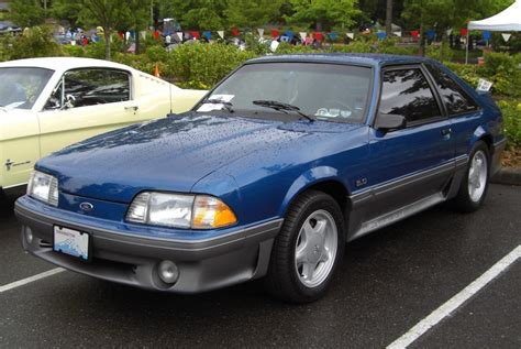 1992 ford mustang for 1992 ford mustang information and photos zombiedrive