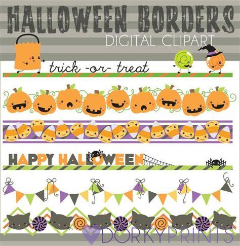 halloween borders  lines clip art google search