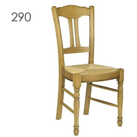 chaise en chene chaise de cuisine rustique en chêne massif 290 293 295