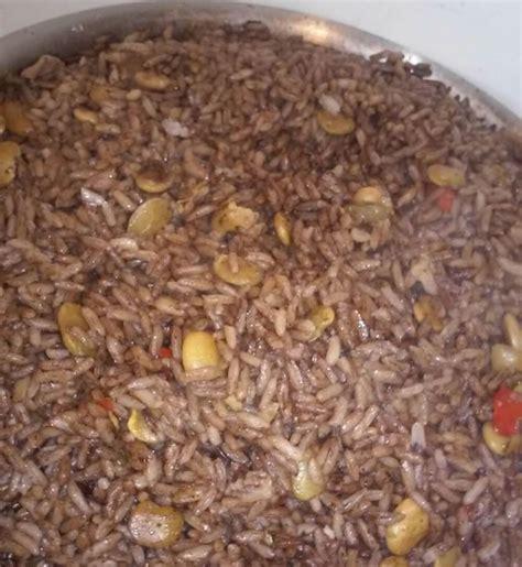 recette riz cuisiné recette du riz djon djon un plat traditionnel de la