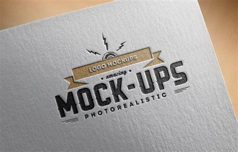 Logo Mockup Logo Mock Up Paper Edition 1 Punedesign