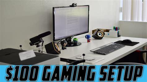 Best Gaming Setup Under $100! Youtube