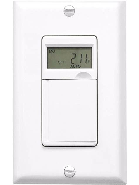2 het01 7 day digital programmable timer wall outlet