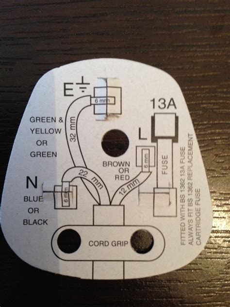 Wiring Diagram Safety Cards Plug
