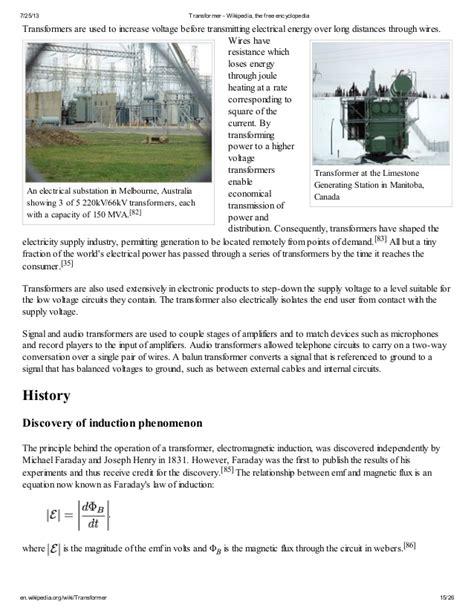 Transformer Wikipedia The Free Encyclopedia