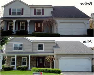 siding before and after photos