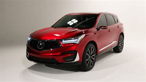naias 2019 acura rdx concept is production ready